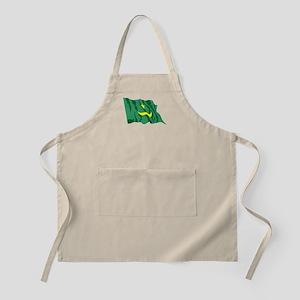 Mauritania Flag Apron