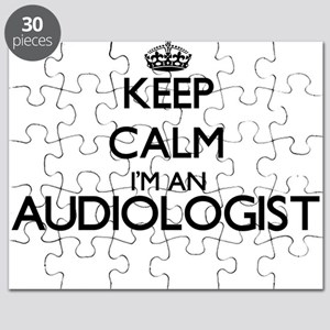 Keep calm I'm an Audiologist Puzzle