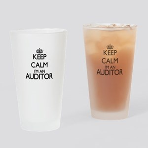 Keep calm I'm an Auditor Drinking Glass