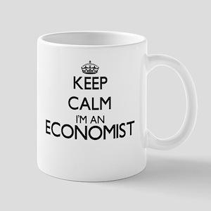 Keep calm I'm an Economist Mugs