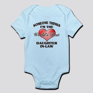 World's Best Daughter-In-Law (Heart) Body Suit