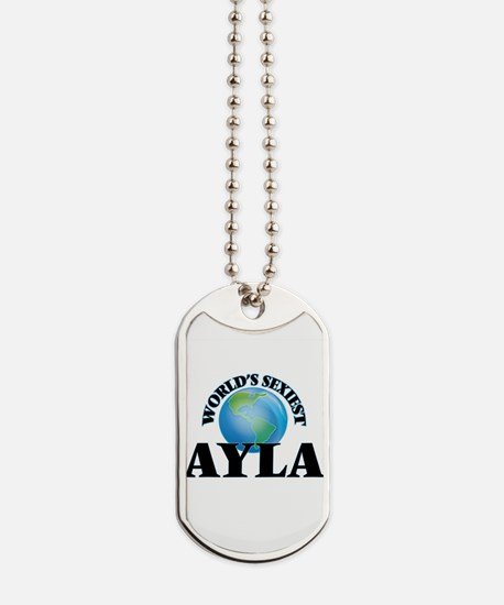 World's Sexiest Ayla Dog Tags