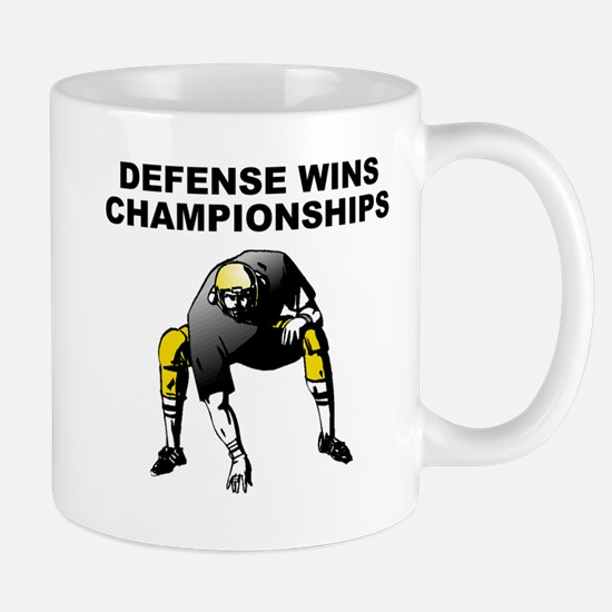 Defense Wins Championships Mugs