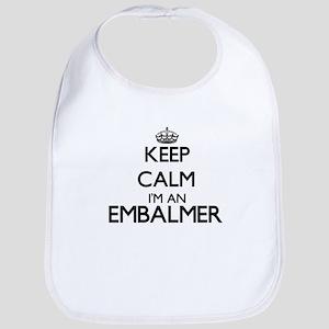 Keep calm I'm an Embalmer Bib