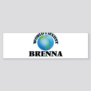 World's Sexiest Brenna Bumper Sticker