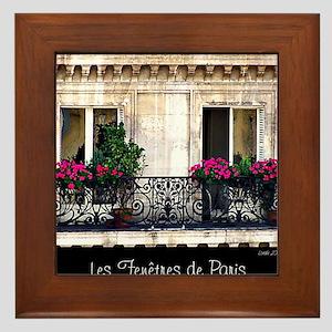 Windows Of Paris-Railing Framed Tile