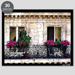 Windows Of Paris-Railing Puzzle