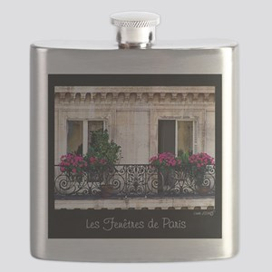 Windows Of Paris-Railing Flask