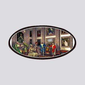 Your photos in a historical art gallery Patches