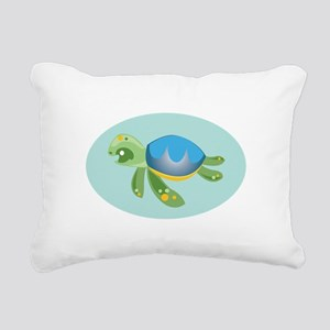 Turtle Rectangular Canvas Pillow