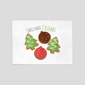 Christmas Crumbs 5'x7'Area Rug