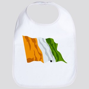 Ivory Coast Flag Bib