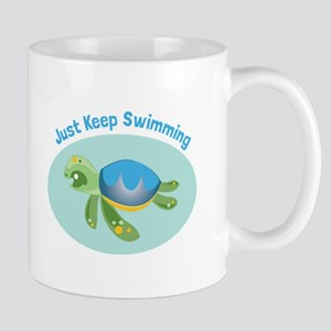 Just Keep Swimming Mugs