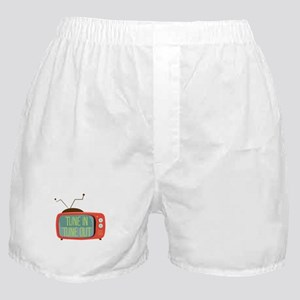 Tune In Tune Out Boxer Shorts