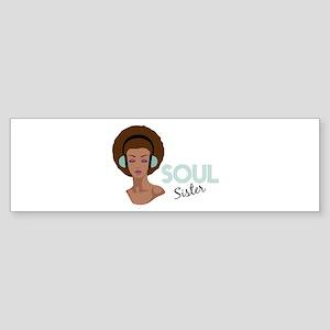 Soul Sister Bumper Sticker