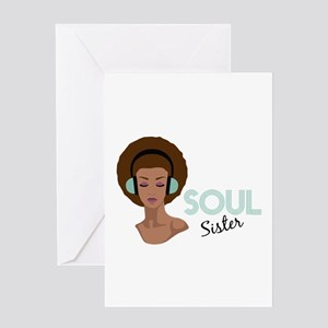 Soul Sister Greeting Cards