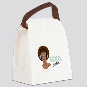 Soul Sister Canvas Lunch Bag
