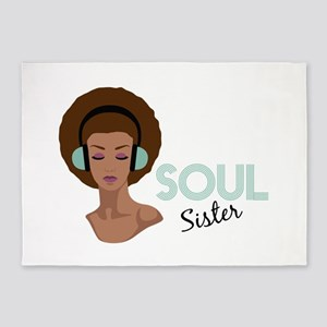 Soul Sister 5'x7'Area Rug