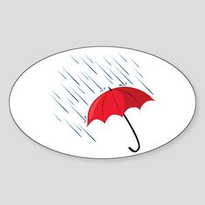 Rain Umbrella Sticker