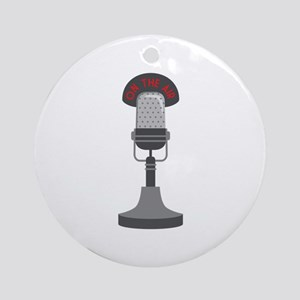 On The Air Ornament (Round)