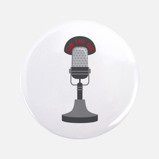 """On The Air 3.5"""" Button"""