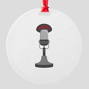 Radio Microphone Ornament