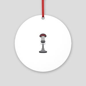 Radio Microphone Ornament (Round)