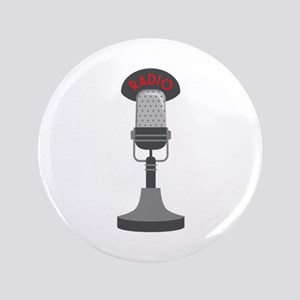 "Radio Microphone 3.5"" Button"