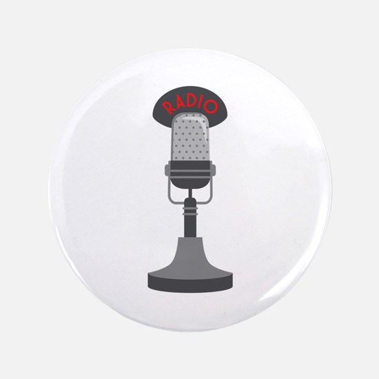 "Radio Microphone 3.5"" Button"