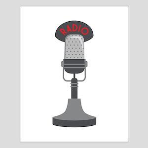 Radio Microphone Posters