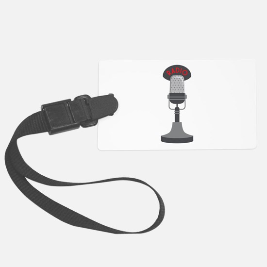 Radio Microphone Luggage Tag
