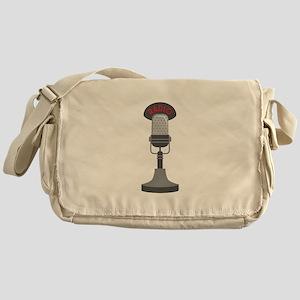 Radio Microphone Messenger Bag