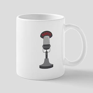 Radio Microphone Mugs