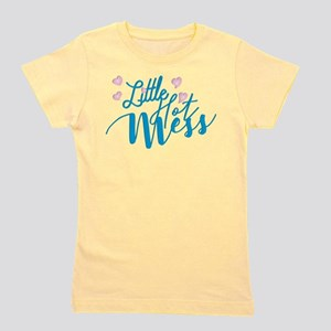 Litte Hot Mess blue T-Shirt