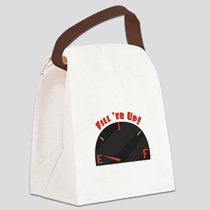 Fill Er Up Canvas Lunch Bag