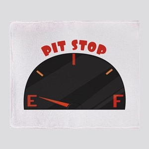 Pit Stop Throw Blanket