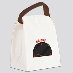 Uh Oh! Canvas Lunch Bag