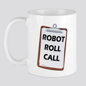 Robot Roll Call Mug