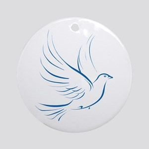 Dove of Peace Ornament (Round)