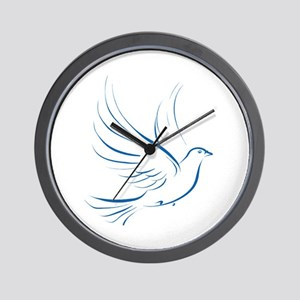 Dove of Peace Wall Clock