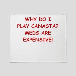 canasta Throw Blanket