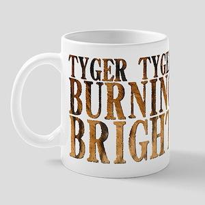 Tyger Tyger Burning Bright Mug