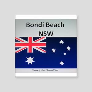 Bondi Beach Merchandise by ColinGwytherPho Sticker