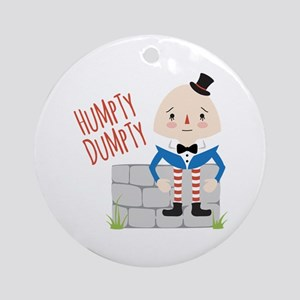 Humpty Dumpty Ornament (Round)