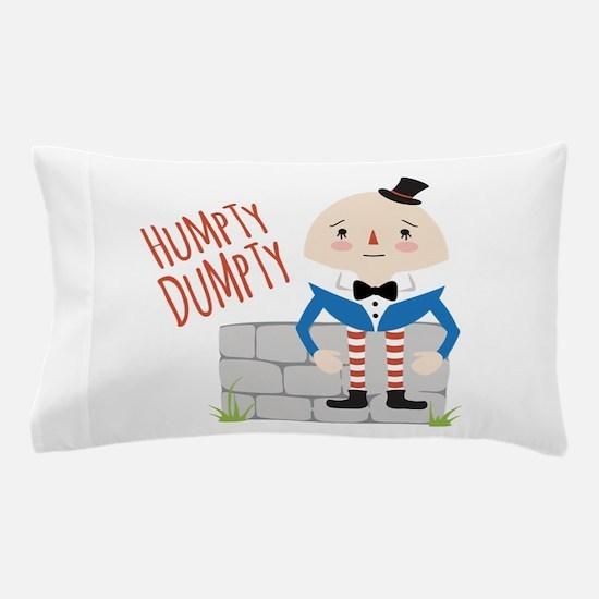 Humpty Dumpty Pillow Case