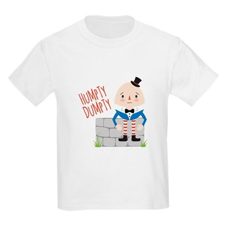 1425678390 CafePress Humpty Dumpty T Shirt Kids Light T-Shirt
