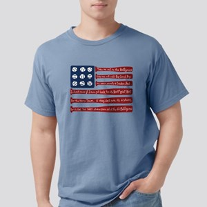 Baseball/flag T-Shirt