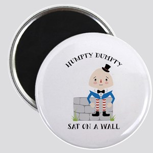 Sat On A Wall Magnets