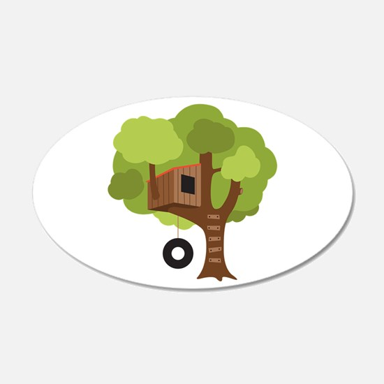 Tree House Wall Decal