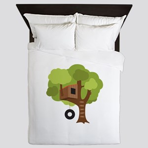 Tree House Queen Duvet